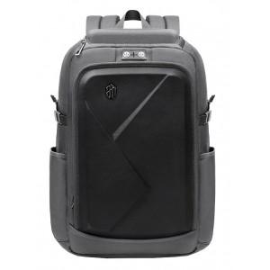 ARCTIC HUNTER τσάντα πλάτης B-00295-GY με θήκη laptop eva πρόσοψη