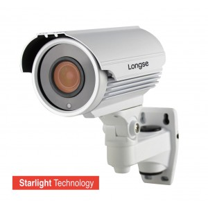 LONGSE Starlight Υβριδική Bulet Κάμερα CCTV-022 1080p