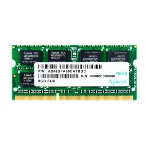 APACER Μνήμη DDR3 SODimm DS.08G2J.K9M