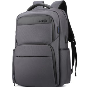 ARCTIC HUNTER τσάντα πλάτης B00113C-GY με θήκη laptop