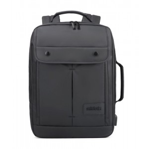ARCTIC HUNTER τσάντα πλάτης B00325-BK με θήκη laptop